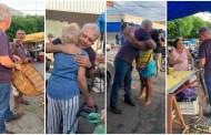 Nabor Wanderley faz visita à feira de Patos. Deverá ser candidato a prefeito pela quinta vez