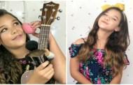 "Helô Wanderley canta a música ""Céu Azul"" de Charlie Brown Jr. Vídeo"