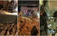 Bandidos invadem São Bento e explodem duas agências bancárias. Vídeos