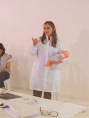 Joana Sabino, do BLH de Patos, durante a capacitação que ministrou em Princesa Isabel (1)
