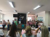 A comemoração de um ano coincidiu com as ações do Outubro Rosa