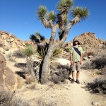 Andy in Joshua Tree
