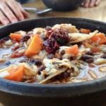 Power food for musicians rabbit chili recipe