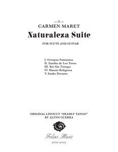 Naturaleza Suite Inside Cover