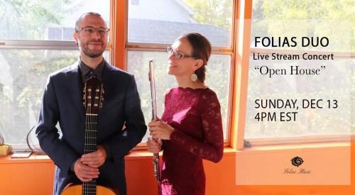 December Live Stream Folias Duo