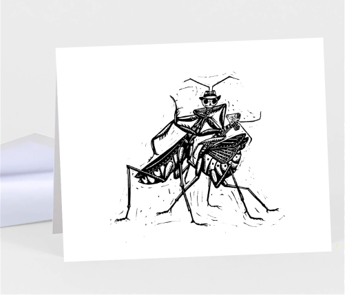 Mantis Notecard - Folias