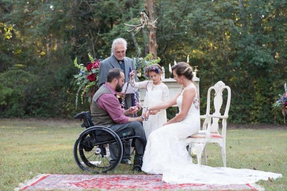 Non-Traditional Wedding Ideas - Kate & Brandon's Handfasting - Photo by Kendra from Pinehurst Photography