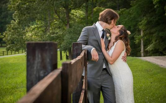 Carrie + Dave's Bright and Festive Mortoco Wedding in Durham, NC