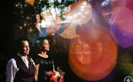 Lisa + Wallace's Witchy Narnia Wedding at Old Edward's Club in Highlands, NC