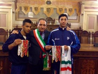 Pugilato Foligno, Mismetti riceve Angelo Di Rocco campione italiano youth