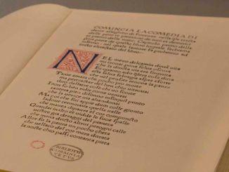 Divina Commedia torna a Foligno in esposizione al Museo della Stampa