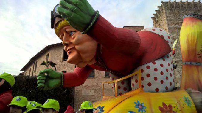 Carnevale dei ragazzi di Sant'Eraclio 2019, collettiva di arte contemporanea