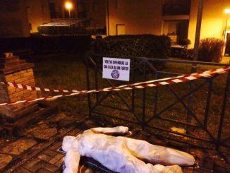 """Manichini a Sant'Eraclio, Casapound: """"Uccisi dalla cattiva amministrazione"""""""