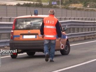Umbria, Anas: incidente sulla Val di Chienti in direzione Foligno
