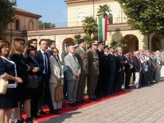 Caserma Gonzaga Foligno celebrazioni 20 anni centro selezione reclutamento
