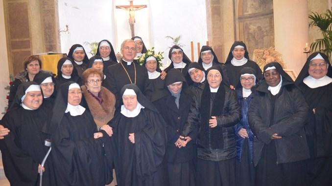 Benedettine Celestine di Castel Ritaldi, professione solenne di suor Marianna Gorecho