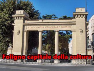 Presentato dossier candidatura di Foligno capitale cultura 2020