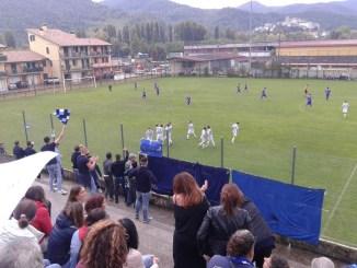 Calcio, campionato Promozione, Settima giornata, Montefranco-Foligno 0-2