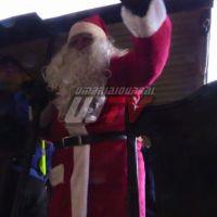 Babbo Natale in treno a Foligno, aspetta i regali per donarli agli altri