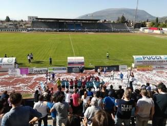 Calcio, Foligno-Viole termina 2 a 1 in favore dei Falchetti