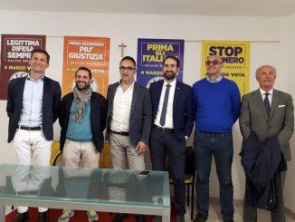 Inaugurata sede Lega a Foligno, inizia la campagna elettorale