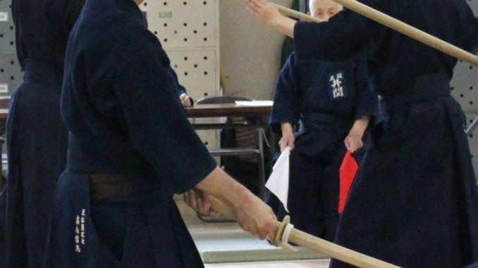 Arte marziale della spada del kenjutsu al Palasport di Foligno