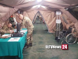 Soccorso Sanitario scenario guerra e calamità a Foligno Esercito italiano