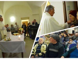 Arcivescovo Renato Boccardo ha celebrato la Santa Messa a Bevagna