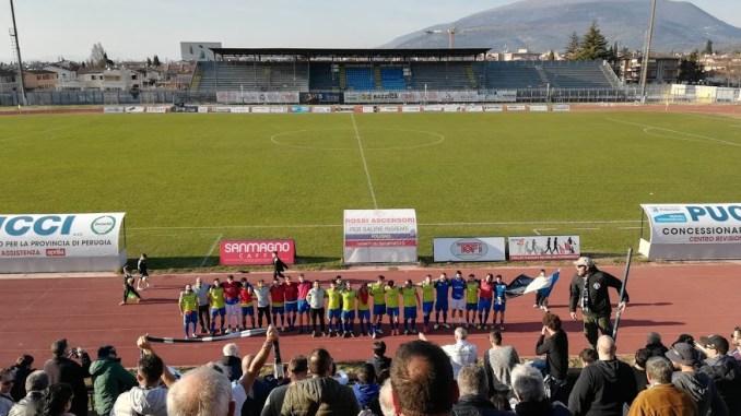 Calcio, partita Foligno-Pievese termina con un bel 4-1