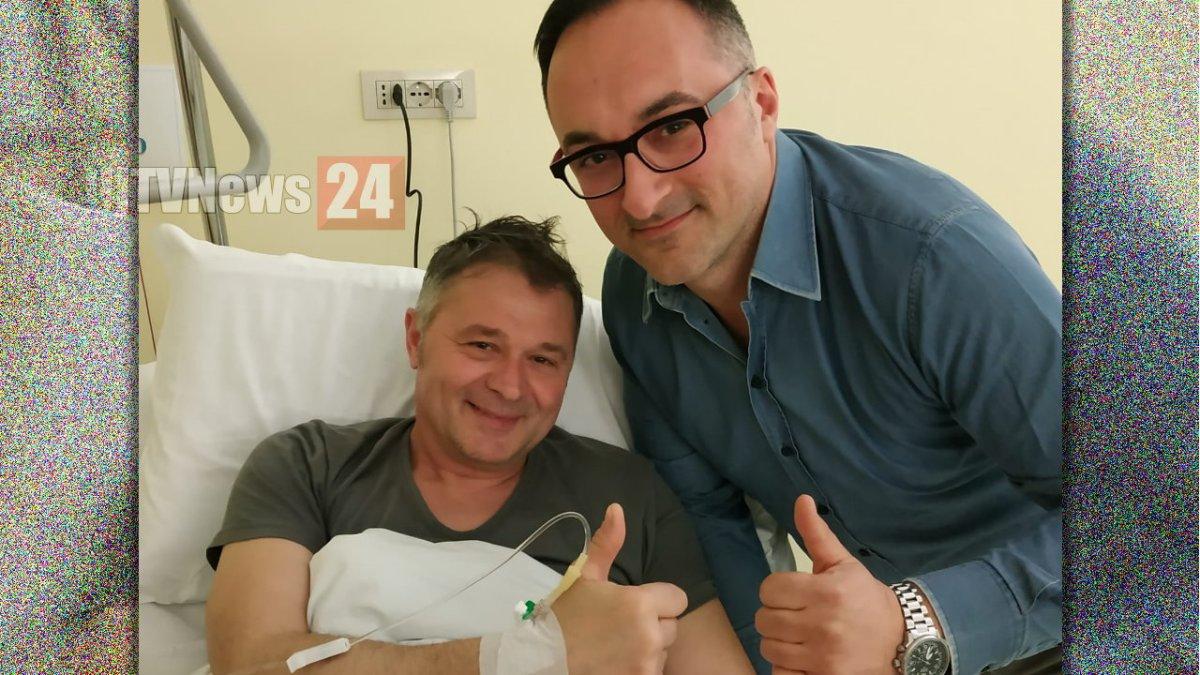 Stefano Zuccarini, candidato sindaco Foligno, ferito in un incidente