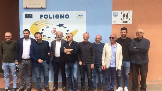 Foligno calcio, presentati il ds Cuccagna, il tecnico Armillei e il capitano Petterini