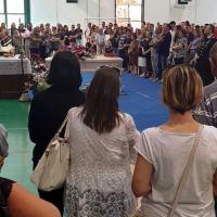 Nicola Galardini, l'ultimo saluto al carabiniere, tanti i presenti a Cannara