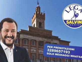 Matteo Salvini torna a Foligno, 11 settembre