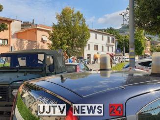 Barricato nella scuola di Sant'Eraclio, arresti domiciliari per genitore