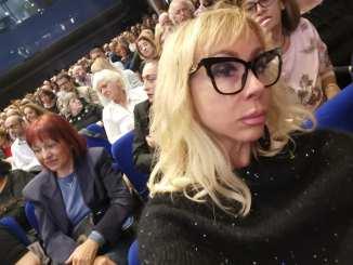 Caterina Lucangeli, Premio Rosa dell'Umbria, a Foligno con Vittorio Sgarbi