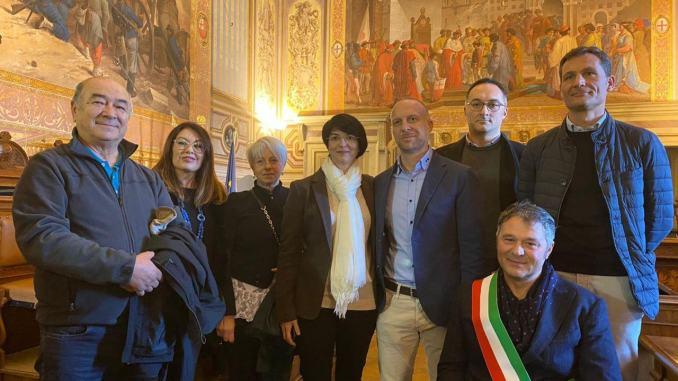 Riconoscimento per pilota folignate Simone Tiburzi