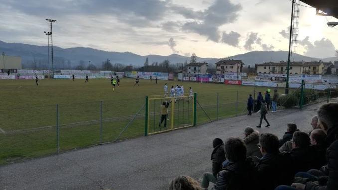 """Trestina-Foligno 2 a 2 allo stadio """"Lorenzo Casini"""" 21esima di campionato"""