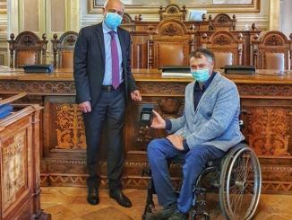 Sindaco Zuccarini incontra questore Perugia