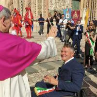 Orvieto, sindaco Zuccarini e il ringraziamento al vescovo Sigismondi