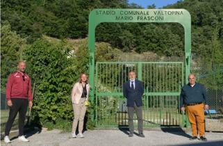 Torna il grande calcio a Valtopina, firmato accordo pluriennale