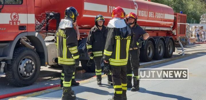 Incendio Cartiere Trevi, nessun impatto ambientale e sulla salute delle persone