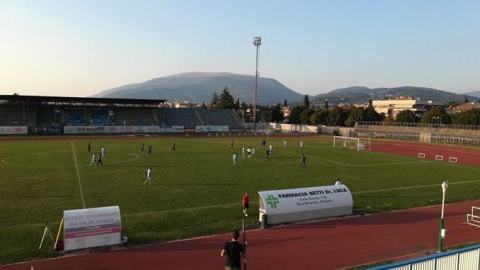 Amichevole Foligno - Ellera termina 2 a 1 per i Falchetti