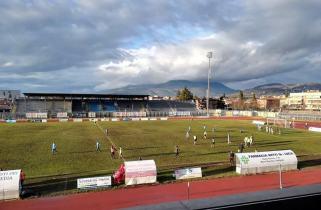 Campionato Serie D girone E, il Foligno calcio perde per 0 a 2 contro la Pianese
