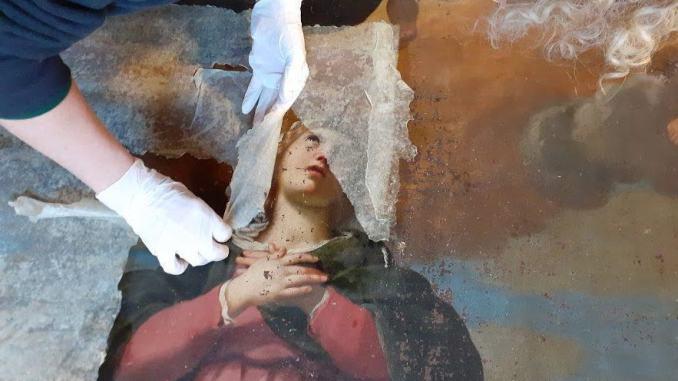 Restauro Immacolata Concezione di Camasei sabato 30 la presentazione