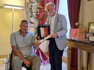 """In pensione tenente Bianchini, Zuccarini: """"gratitudine per il suo impegno"""""""