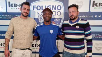 Foligno calcio, Alex Martial Bengala Gomsi è un nuovo giocatore