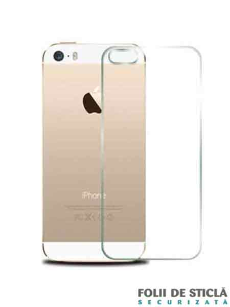 Folie din sticla securizata pentru iPhone 5/5S/SE - Spate
