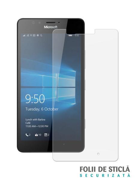 Folie din sticla securizata pentru Microsoft Lumia 950