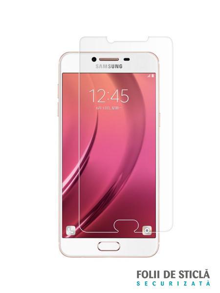 Folie din sticla securizata pentru Samsung Galaxy C5 Pro