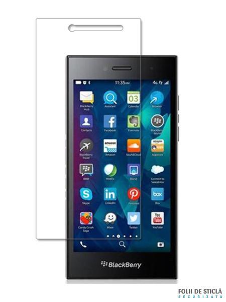 Folie din sticla securizata pentru BlackBerry Leap